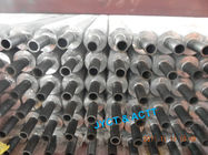 Air Cooler Metal Extruded Fin Tube , Wire Wound Finned Tube Small Flow Losses