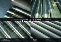 China Extruded Fin Tube For Heater Or Heat Exchanger Parts With 2.1-5.0mm Fin Pitch factory