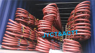 Welded U Bend Spiral Finned Tubes For Boilers / Economizers SA210 Anti Corrosion