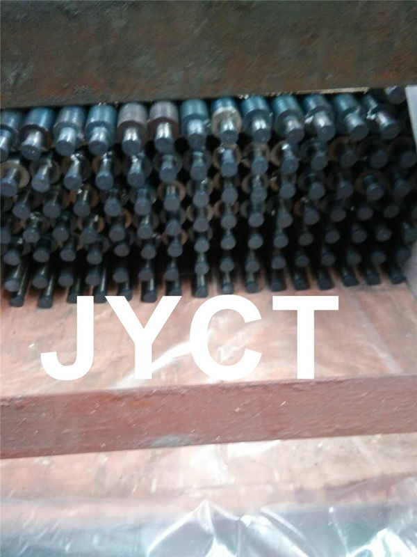 High Frequency Welded Sprial Steel Fin Tube , Integral Helical Finned Tubes