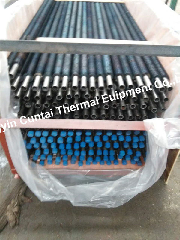 High Frequency Resistance Welded Helical Fin Tubes , Low Integral Fin Tube