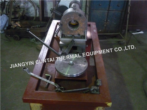 High Precision Tube Finning Machine For Extruded Fin Tubes Manufacturing