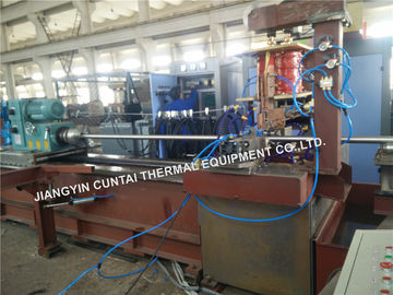 China High Frenquency Fin Tube Welding Machine For Fired Heaters / Heat Exchanger distributor