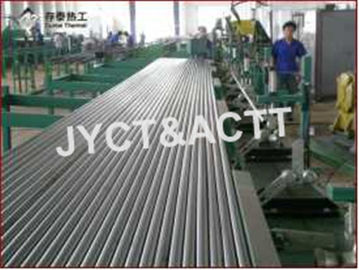 China Fin Tube Manufacturing Machine For Wrapped / Type L / LL Embedded Finned Tubes factory