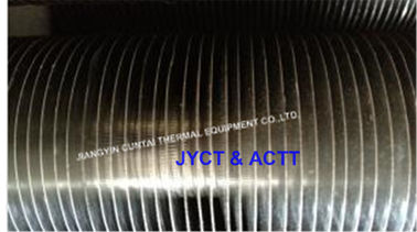 China Steel Knurled KL Fin Tube For Heat Exchanger Parts With AL1060 Fin Material distributor