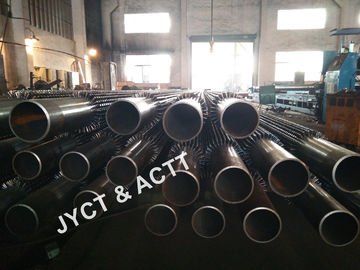 China Steel Weld Stud Pipe For Heat Exchanger ASTM A106 152X10X7000mmL distributor