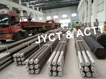 China Welded Continuous Sprial Fin Tubes For Boilers Economizers Stainless Steel / Carbon Steel factory
