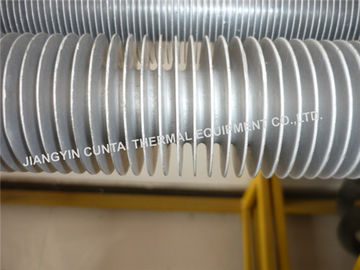 China Seamless Extruded Aluminium Finned Tubes For Industrial Air Heater / Air Cooler distributor