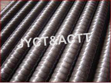 China Corrugated Metal Tube For Petrochemical / Paper Making / Building Heating distributor