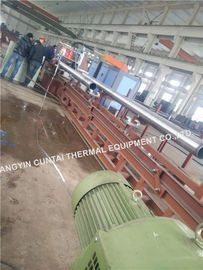 China Spiral Serrated Fin Tube Welding Machine / Production Line High Frequency factory