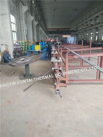 China High Frenquency Steel Fin Tube Welding Machine For Boilers / Economizers factory
