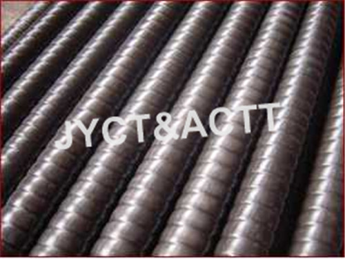 Corrugated Stainless Steel Tubing , Galvanized Corrugated Metal Pipe