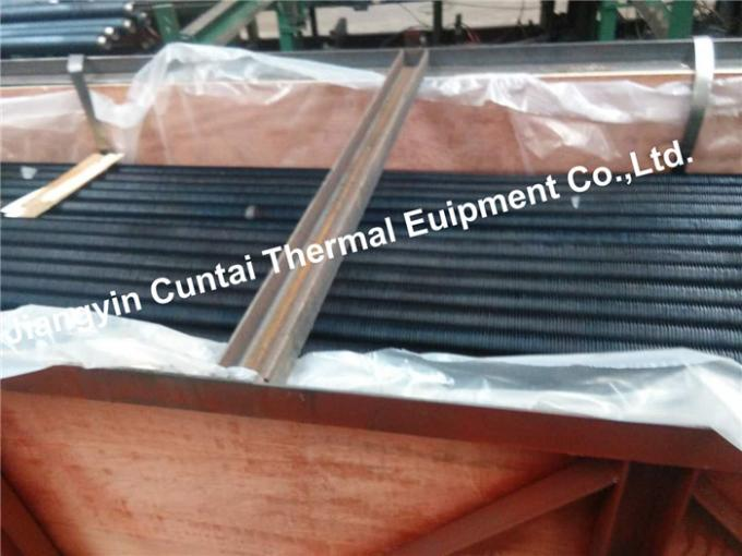 SA179 Steel Welded Finned Tubes , Low Fin Tube And Pipe 0.8-3mm Fin Thick
