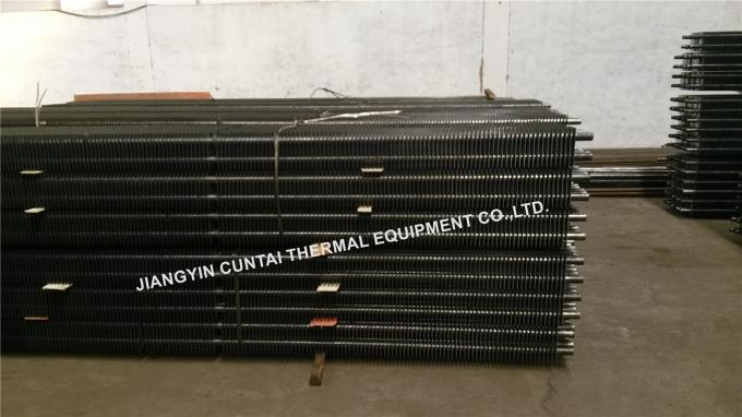 Welded Square Fin Tube H Type Pipe ST35.8 SMLS for Air Cooler / Heat Exchanger