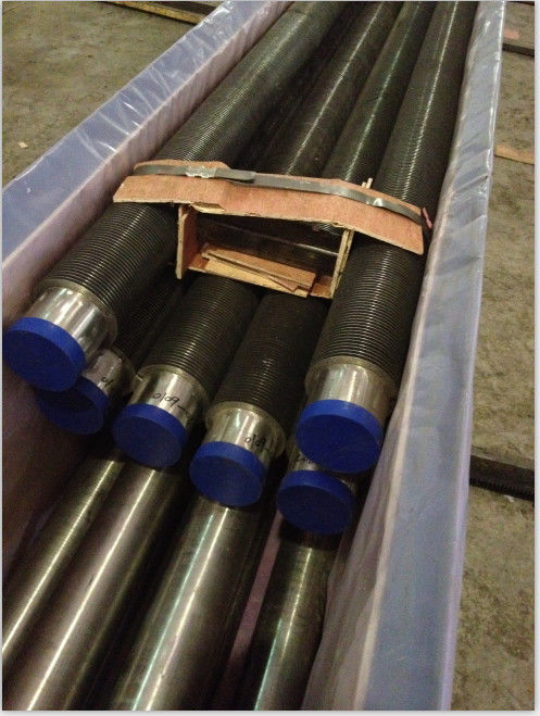 SA192 Integrated Helical Finned Tube For Heat Exchanger / Pre Heaters Customized