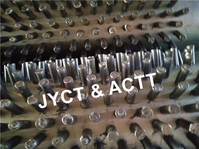 SA335 P5 Studded Tube Carbon Steel Pipe For Fired Heaters Anti Corrosion
